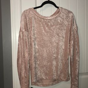 free people velvet sweater